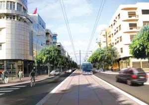 Le Tramway de Rabat